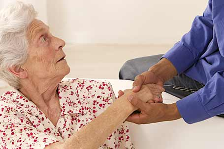 caring for seniors with dementia